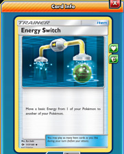 Pokemon TCG ONLINE x4 Energy Switch 117/149 (DIGITAL CARD) Trainer Item