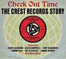 CHECK OUT TIME - THE CREST RECORDS STORY 1955 -1962 - 50 ORIGINALS (NEW 2CD)