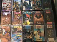 Lot Of 15 Rare Comic Books DC Marvel Superman Batman Punisher