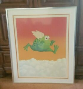 MICHAEL BEDARD SIGNED & NUMBERED LITHOGRAPH - FRAMED