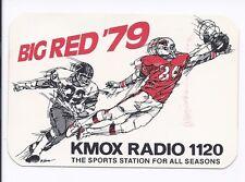 1979 Schedule St Louis Cardinals NFL