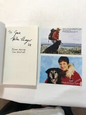 Helen Thayer 3 Among The Wolves Signed Autographed 2008 Nature Science Book