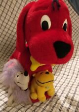 Clifford Big Red Dog And Friends Cleo And T-Bone Plush Animal Scholastic 13