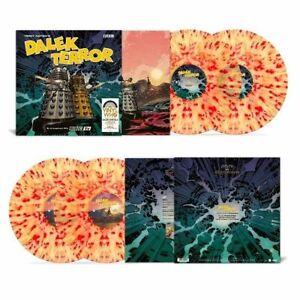DOCTOR WHO - Dalek Terror (RSD21) NEW SEALED DOUBLE SPLATTER COLOURED VINYL LP