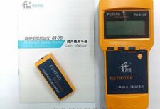 Network Lan Phone Cable Tester Wire Tracker Cat.5E/ 6E Utp Stp New