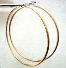 73mm Huge 14k Gold Filled Earring Round hoop tube Ear wire Eurowire earwire g37