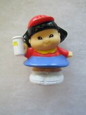 Fisher Price Little People SONYA LEE McDONALD'S GIRL Fast Food Worker Asian