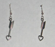 Arrow Thru My Heart Earrings by Slave Violet Jewerly Made in the USA