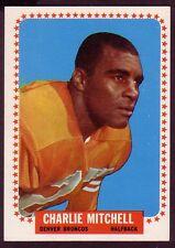 1964 TOPPS CHARLIE MITCHELL CARD NO:55 NEAR MINT