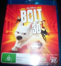 Walt Disney Bolt Blu-ray 3d John Travolta