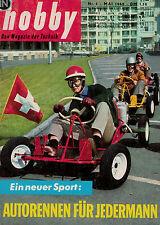hobby,Magazin 5/1960,Go-Kart Sport,Kleinhubschrauber,Benzin Briketts,Garten Pool