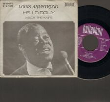 "LOUIS ARMSTRONG Hello Dolly SINGLE 7"" Mack the Knife"