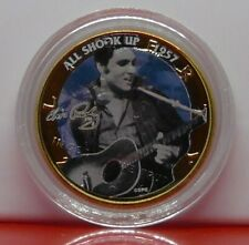 Half Dollar America Music Elvis Presley Gold Plated 2006 All Shook Up 1957