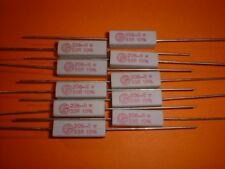 10x 33 Ohm / 4 Watt Hochlast Drahtwiderstand 206-8