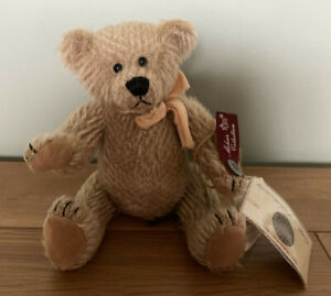 """BUCKLEY Bear by Russ Limited Edition Mohair Collection Jointed 20cm 8.5"""" NEW"""