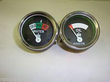 Oil Temp 2 Gauge Set for Farmall IH H, SH, SM, SMD, SMTA, W, SW 1947-1954