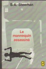 S.A.Steeman - le mannequin assassiné . Poche policier  1971 .