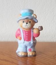 Enesco Lucy Rigg Figurine Lucy & Me Grandpa Bear with Pipe (1986)