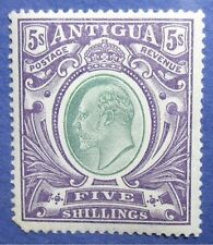 1903 ANTIGUA 5S SCOTT# 30 S.G.# 40 UNUSED                                CS04309