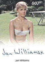 James Bond 50th Anniversary: Jan Williams  autograph