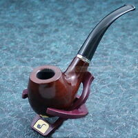 Wooden Enchase Smoking Durable Pipe Tobacco Cigarettes Cigar Pipes