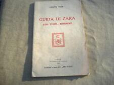 """PRAGA """"GUIDA DI ZARA-SITO-STORIA-MONUMENTI"""" Zara 1925 illustrato"""