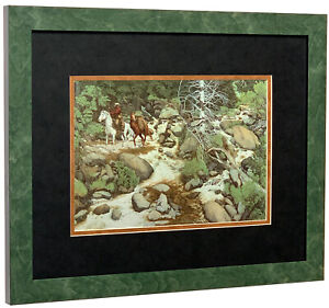 BEV DOOLITTLE  - The Forest Has Eyes (Detail)  - Matted & Framed Art Print