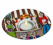 CHRISTMAS WITH THE FAMILY Teelichthalter James Rizzi 26100917 PopArt Ø 15 cm