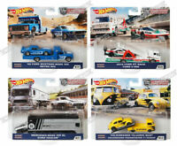 2020 Hot Wheels Premium Team Transport 956H #19 20 21 22 Set of 4 - In Stock