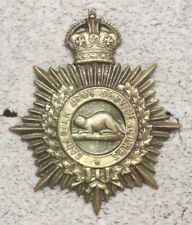 Canadian Army Badge: Army Service Corps - copper, Inglis