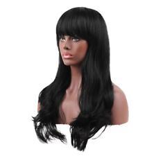 100% vrais perruques de cheveux humains avec capuchon pour les femmes Long