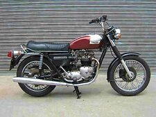 TRIUMPH T100 5T 6T TR5 MANUAL 110pg w/ T-100 Motorcycle Operations & Maintenance