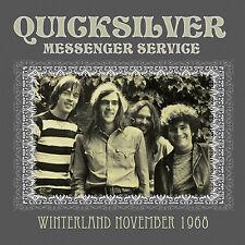 QUICKSILVER MESSENGER SERVICE New Sealed 2017 UNRELEASED 1968 LIVE CONCERT CD