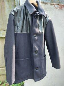 Men's Melton Donkey Jacket. Size XL. Dark Navy.