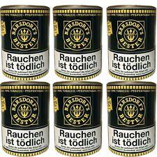 6 x Käptn Barsdorfs Bester Yellow - Vanila Pfeifentabak 180 g Dosen