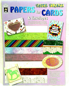 """Paper Pizazz 8.5"""" X 11 Sheets 22 Pull Out Sheets for acid-free cards & more NEW"""
