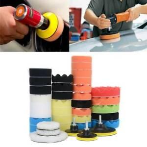 39 Car Polisher Gross Polishing Pads for Drill Sponge Buffer Waxing Buffing Kit