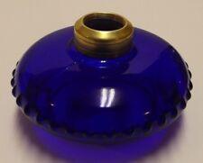 COBALT BLUE GLASS LAMP FONT FOR CAST IRON WALL BRACKET NEW 50103JB