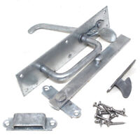GATEMATE HEAVY DUTY SUFFOLK LATCH FOR GATE / DOOR + ALL FIXINGS GALVANISED STEEL