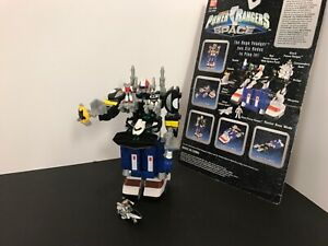 1997 100% COMPLETE Power Rangers In Space Mega Voyager Micro Playset
