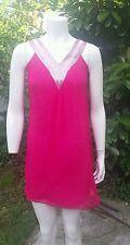 Ravissante robe tunique  Queenie taille 1 soie sequins
