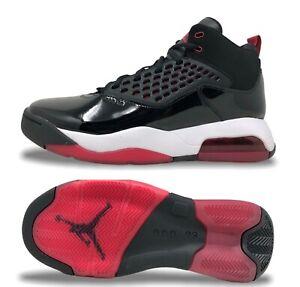 Jordan Maxin 200 Mens Basketball Shoes Black/Gym Red-White CD6107 001 (NEW) 2019