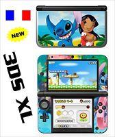 SKIN STICKER AUTOCOLLANT DECO POUR NINTENDO 3DS XL - 3DSXL REF 67 STITCH