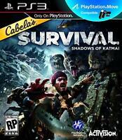 Cabela's Survival: Shadows of Katmai (PlayStation 3, PS3) Brand New