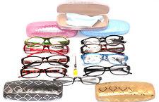 Ladies Lot 2 READING EYE GLASSES, CLEARANCE,  Cases, Repair Kit, Women +2.25