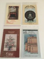 VINTAGE LOT OF 4 CHRISTMAS Tole Painting PATTERNS COUNTRY FOLK BARBARA HEMPHILL