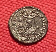 Ancient Roman Bronze Constantinus AE3 Commemorative Coin, Rare!