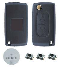 fits Peugeot 207 307CC 308 308SW 3 Button KEY FOB REMOTE CASE Repair Fix Kit