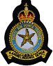 RAF Changi Royal Air Force MOD Crest Embroidered Patch