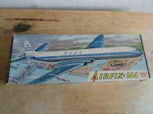 AIRFIX KIT 5-89  1/144    DE HAVILLAND  COMET 4   ( BOAC DECALS MISSING )